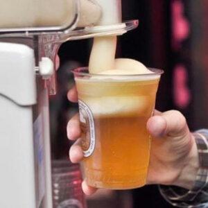 Creador Espuma Congelada de Cerveza