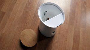 Furgo Dog camera con la Tapa abierta