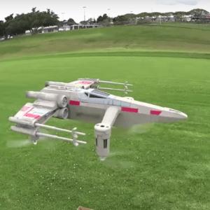Drone A Propulsión X-Wing De Star Wars