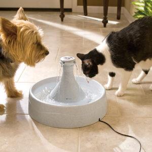 Fuentes para perros y gatos drinkwell 360