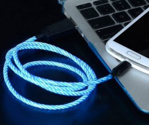 cable cargador led