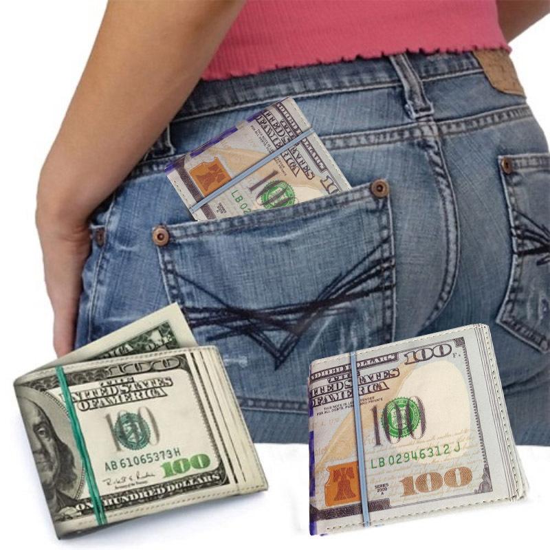 Cartera billetes 100 dólares