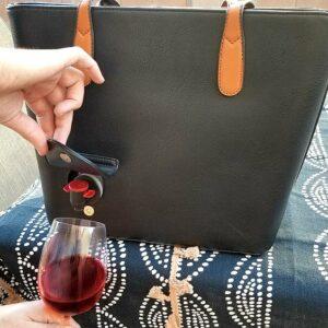 Bolso de mujer para esconder alcohol