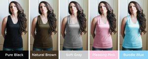 colores de la camiseta lalabu para mamás
