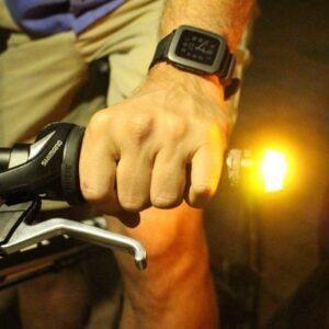 Luces indicadoras cambio de dirección para ciclistas