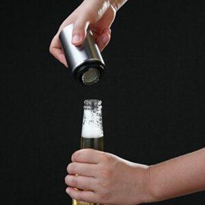 Destapador de botella magnético y automatico