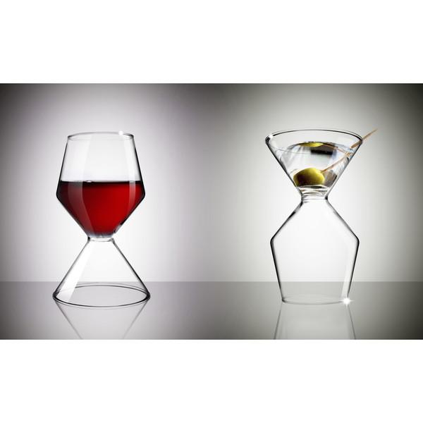 vaso asobu vino tini mitad martini mitad copa de vino