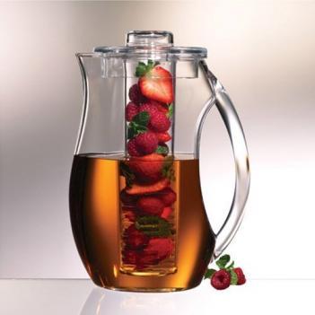 jarra para infusión de frutas y hierbas