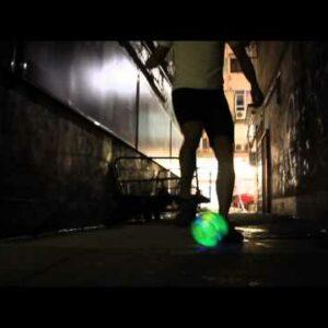 Balon de futbol con luces led