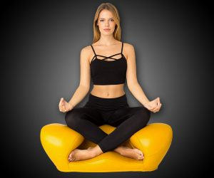 Alexia asiento para meditar ergonómicamente correcto para la psicología humana