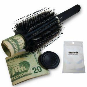 Caja de seguridad en forma de peine para cabello