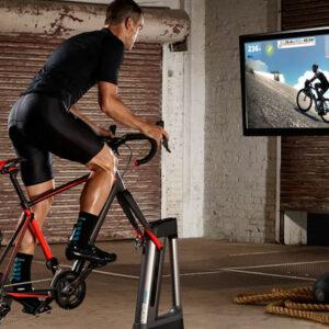 Entrenador interior (indoor) para ciclistas