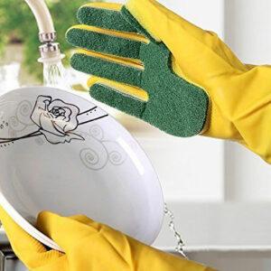 Guante esponja para lavar platos