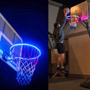 Hoop Light, tira led para iluminar el aro de Baloncesto
