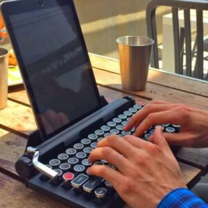 Teclado mecanico clasico Qwerkywriter para tablets y laptops