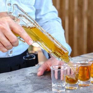 Pistola decantador de Whisky o Vino