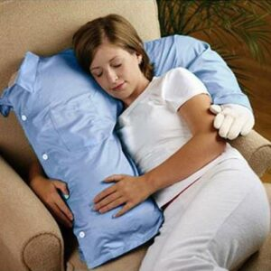 Almohada de novio para mujeres