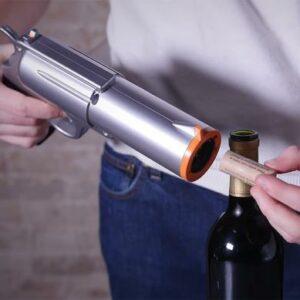 Pistola Sacacorchos inalambrica y recargable