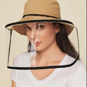 Sombrero con Protector Face Shield