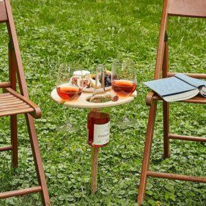 Mesa de Vino plegable para el aire libre