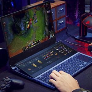 Laptop ASUS Duo15 ″con pantalla dual