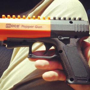 Pistola gas pimienta de larga distancia