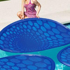 Anillos solares calentadores de piscina