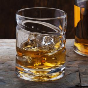 Vaso giratorio para whiskey y licores